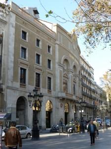 Rehabilitació façana Teatre Principal