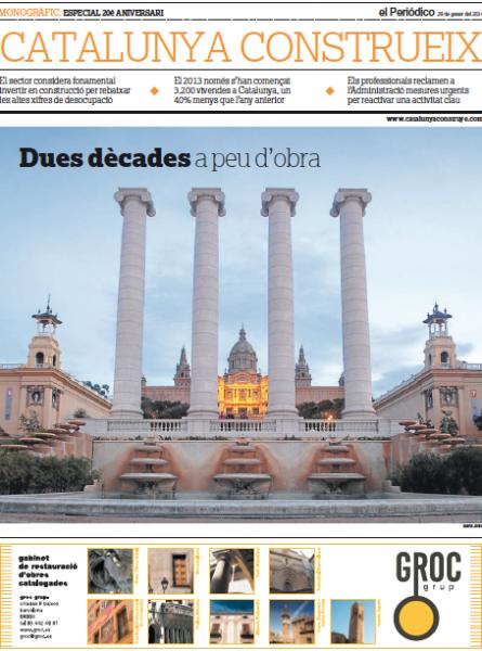 Catalunya Construeix 20 anys